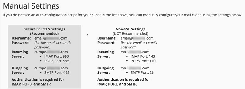 How do I know the Incoming / Outgoing mail settings? - Knowledgebase